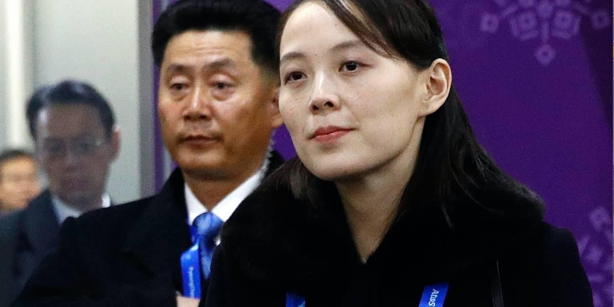 La hermana de Kim Jong Un realiza visita histórica a Corea del Sur