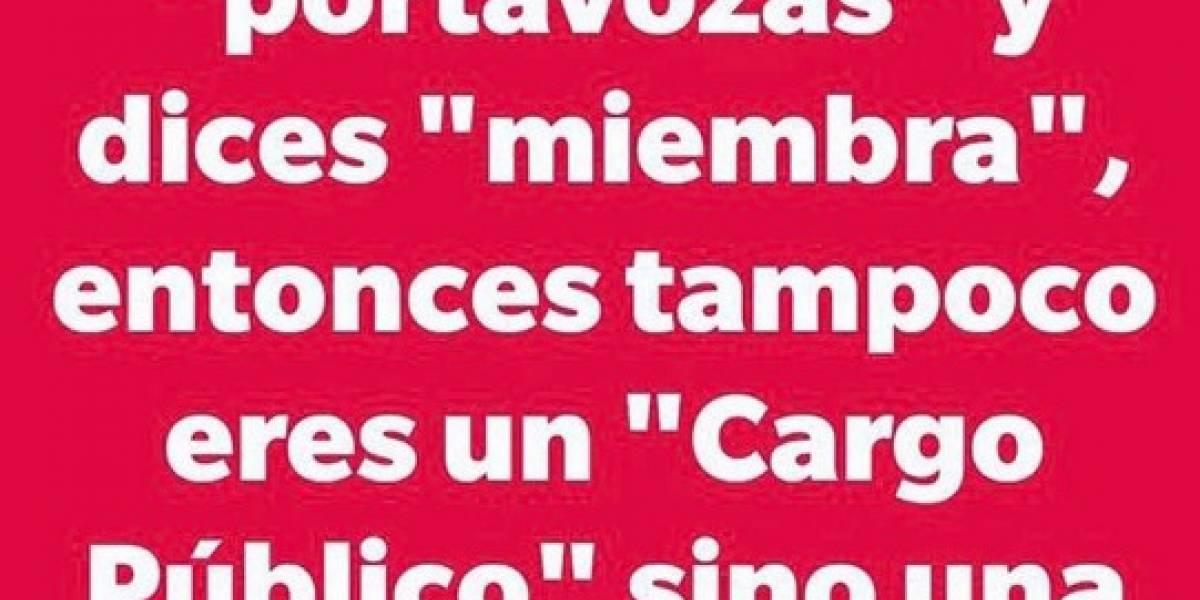 """""""Portavoza"""": el término que busca dar visibilidad a la mujer en política que divide a las redes y que obligó a la RAE a pronunciarse"""