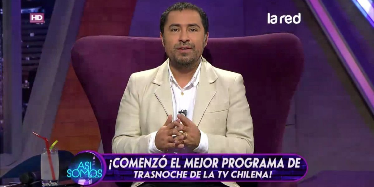 """Cristián """"Chico"""" Perez dice adiós a La Red: """"No me tomó por sorpresa"""""""