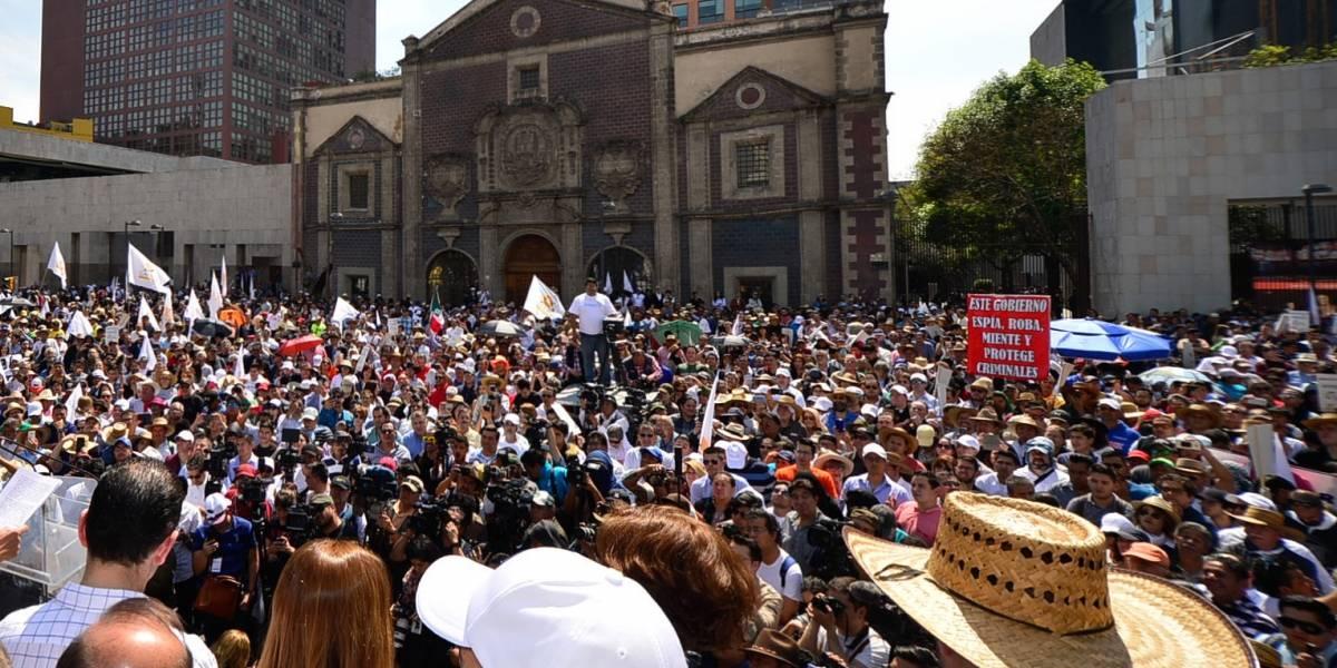 Viernes de marchas y caravana en la Ciudad de México
