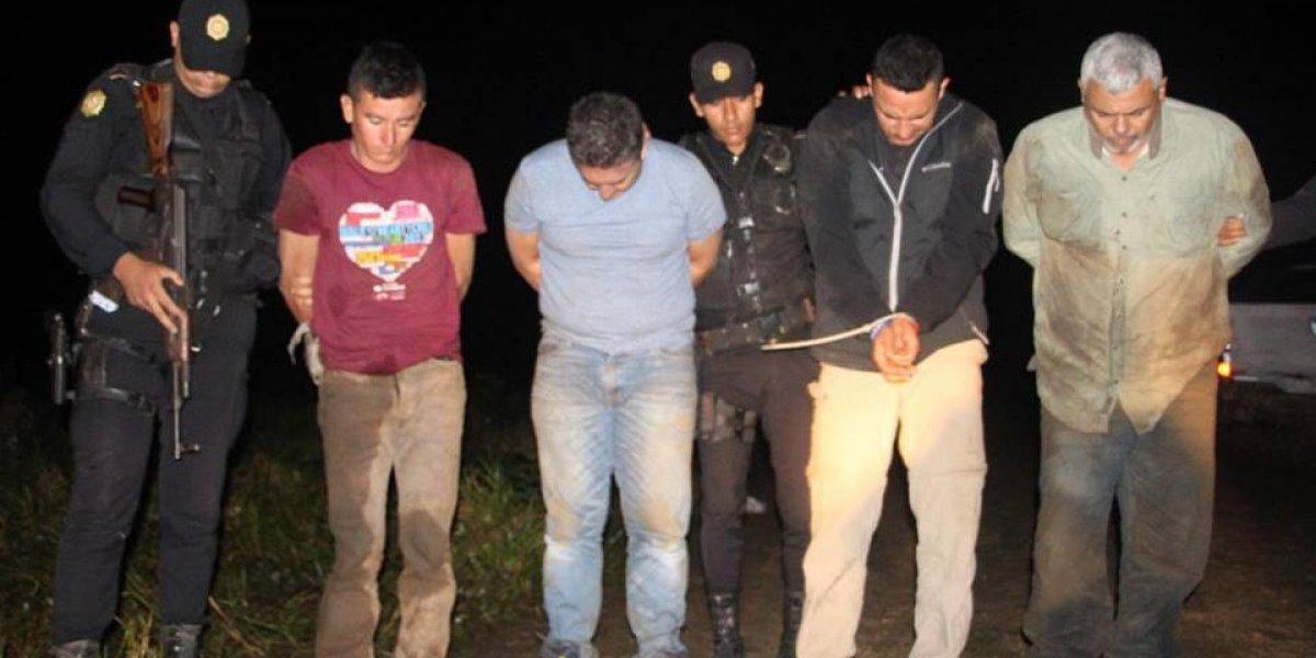 """Detenido en Petén está de alta en el Ejército y recibe el """"bono de riesgo"""""""
