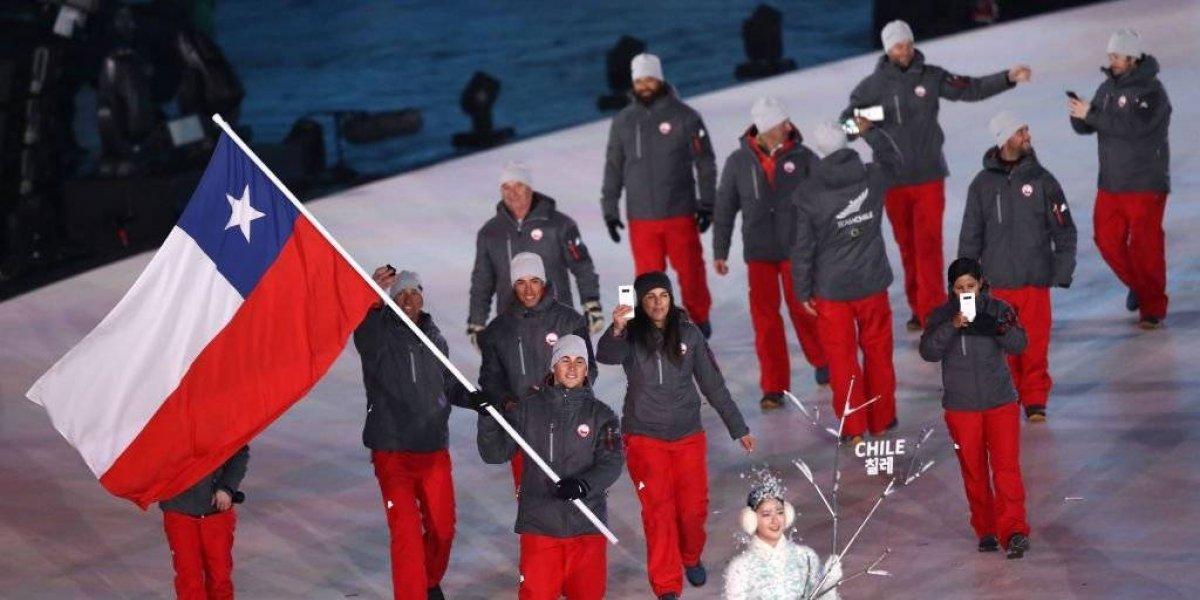 Los chilenos desfilaron en la inauguración de los Juegos Olímpicos de Invierno y ya preparan su estreno