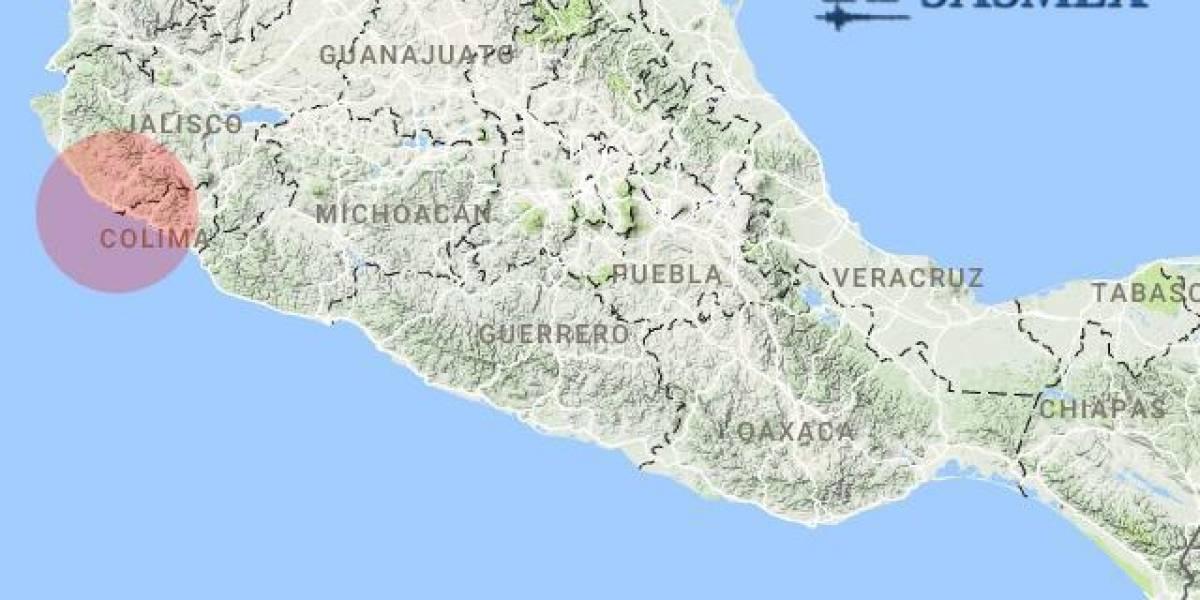 Dos sismos magnitud 4.5 y 5.9 despiertan a Jalisco y Colima