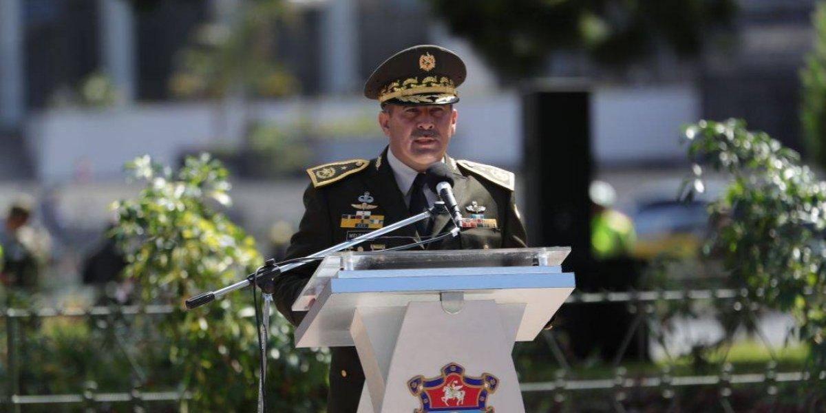 Jueza revoca orden de aprehensión contra el general Erick Melgar Padilla