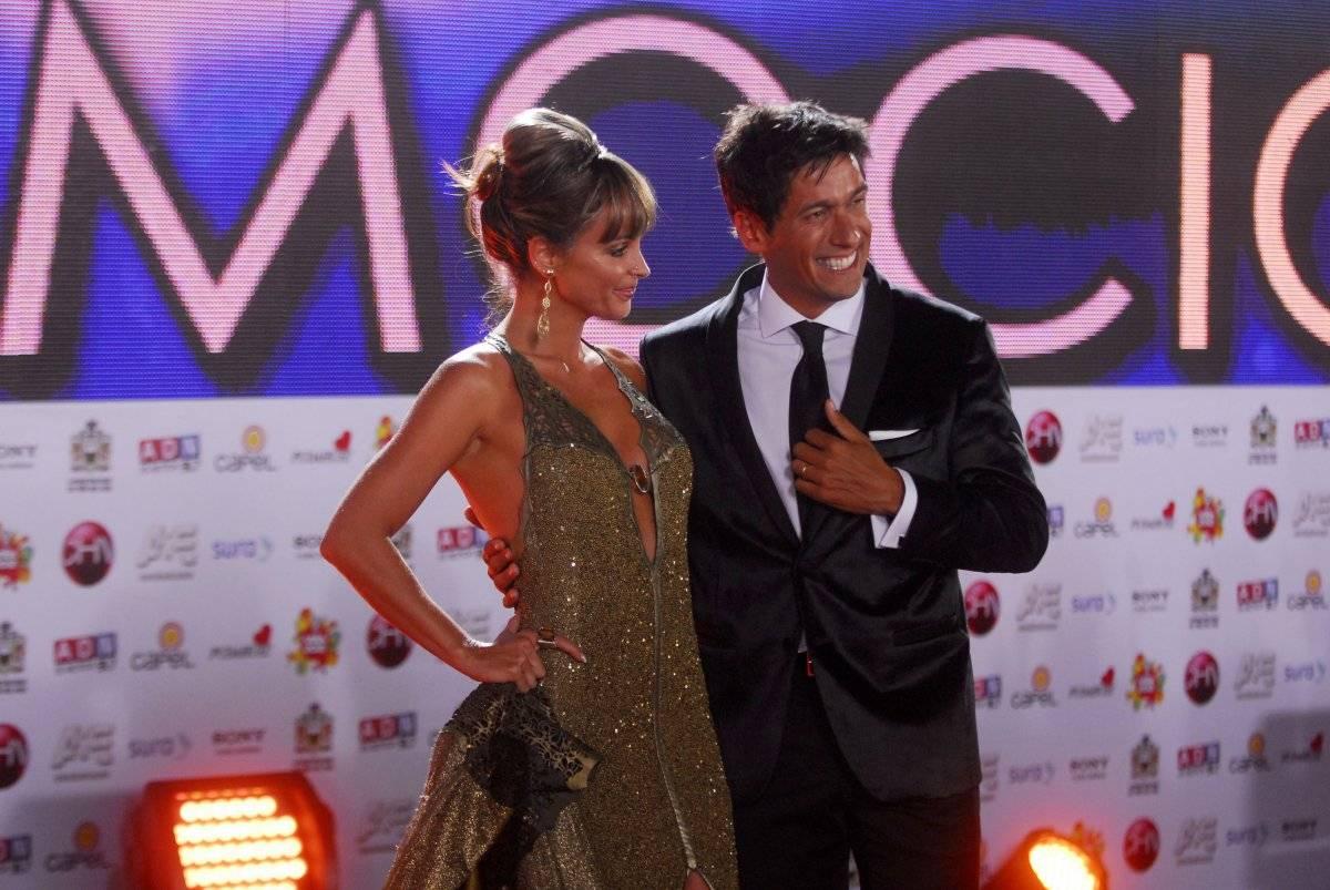 Eva Gomez y Rafael Araneda