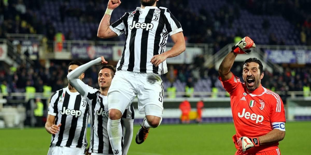 La Juve supera a la Fiorentina y retoma liderato en el Calcio