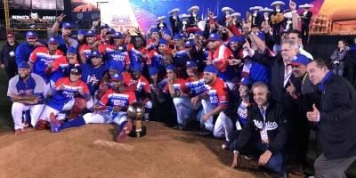P.R. gana Serie del Caribe 2018