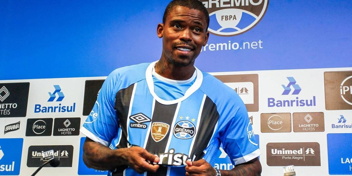 Com problema muscular, Maicosuel vê chegada ao Grêmio como recomeço da carreira