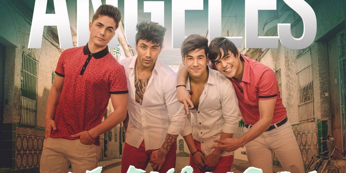 Ángeles, la boy band más importante de cuba, estrena la canción 'Me enamoré'