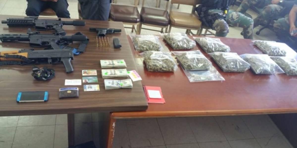 Ocupan armas potentes, droga y miles de dólares en efectivo en Bayamón