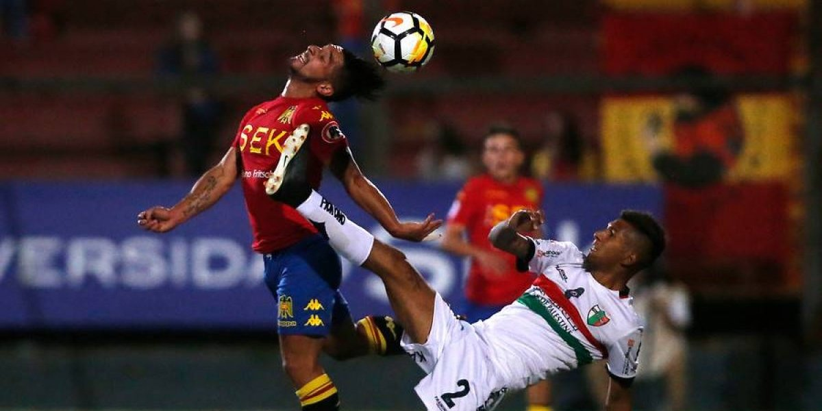 Así vivimos el intenso empate entre Unión Española y Palestino en Santa Laura