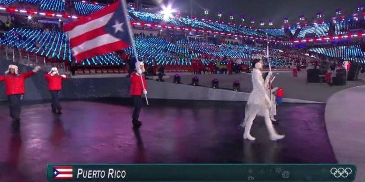 Así lució Puerto Rico en inauguración de los Juegos Olímpicos de Invierno