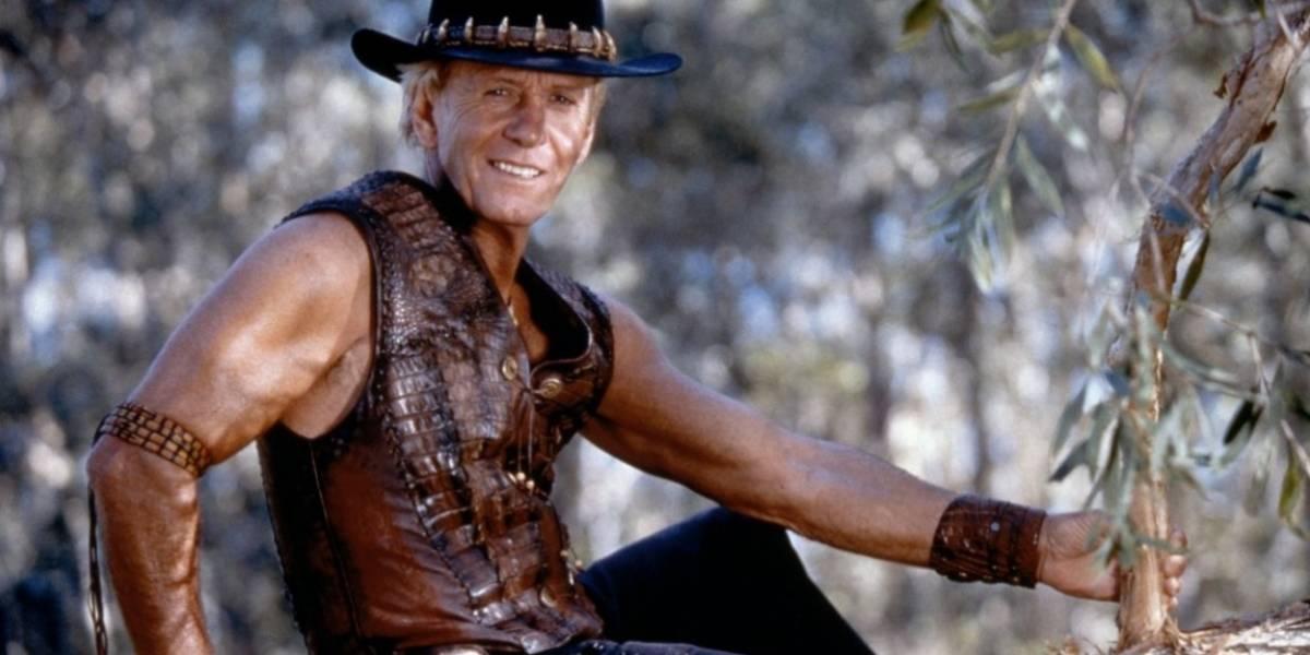 Rede de restaurantes da Austrália faz acordo com ator de Crocodilo Dundee por uso de frase