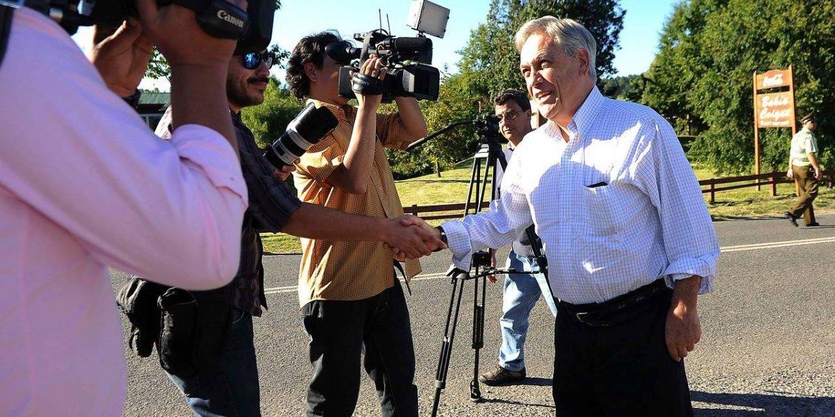 """Piñera se refiere a la batalla entre Carabineros y Fiscalía por """"Operación Huracán"""": """"Es extraordinariamente grave"""""""