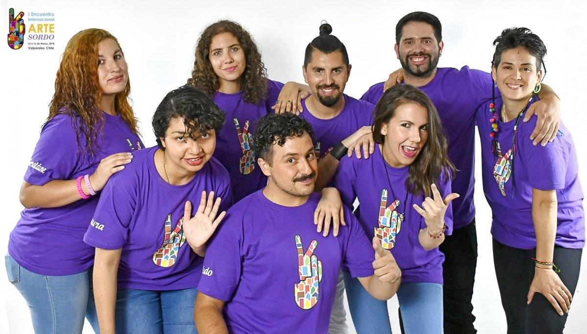 Equipo de Encuentro Internacional de Arte Sordo