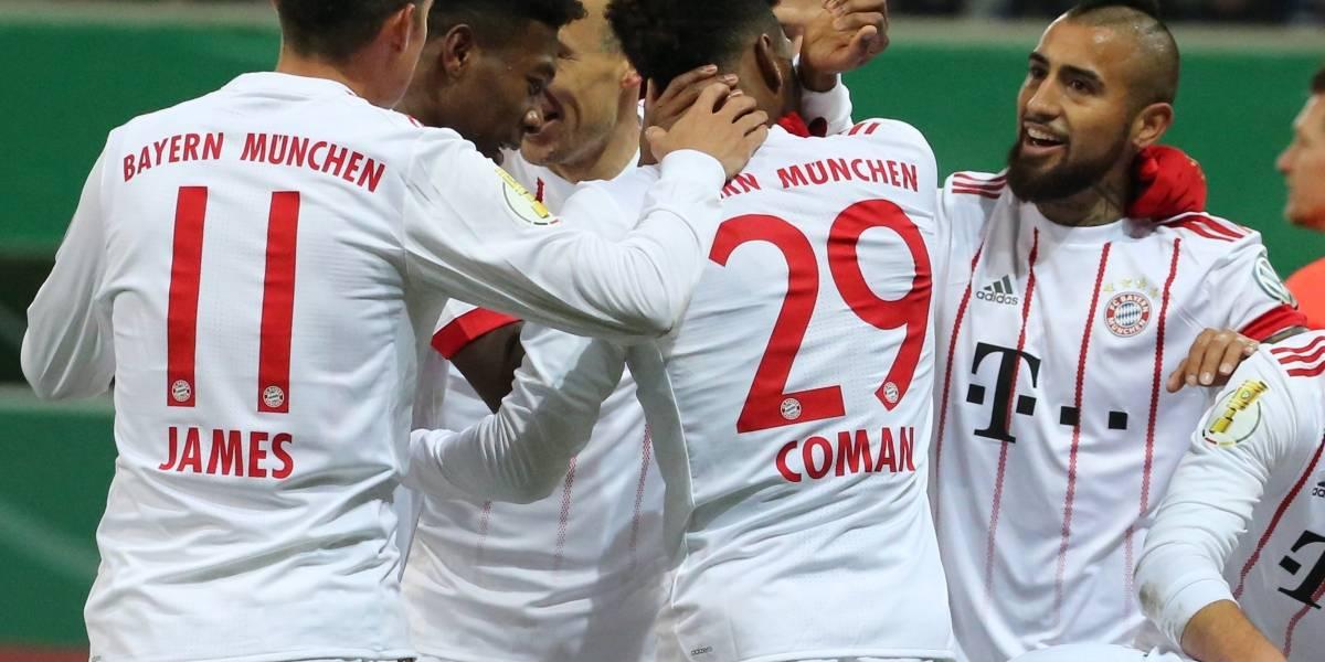 Clásico alemán con James en primera plana: Bayern recibe al Schalke