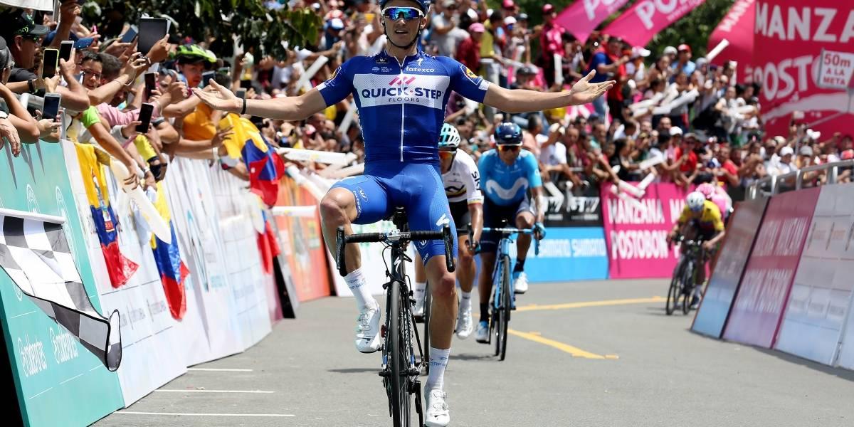 Egan Bernal sorprende y gana la carrera Colombia Oro y Paz