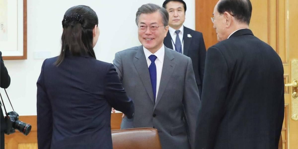 Los dobles de Donald Trump y Kim Jong Un están en Seúl