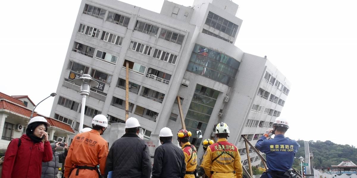 Aumenta a 14 los muertos en el terremoto de Taiwán