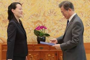 Presidente surcoreano es invitado a visitar Corea del Norte