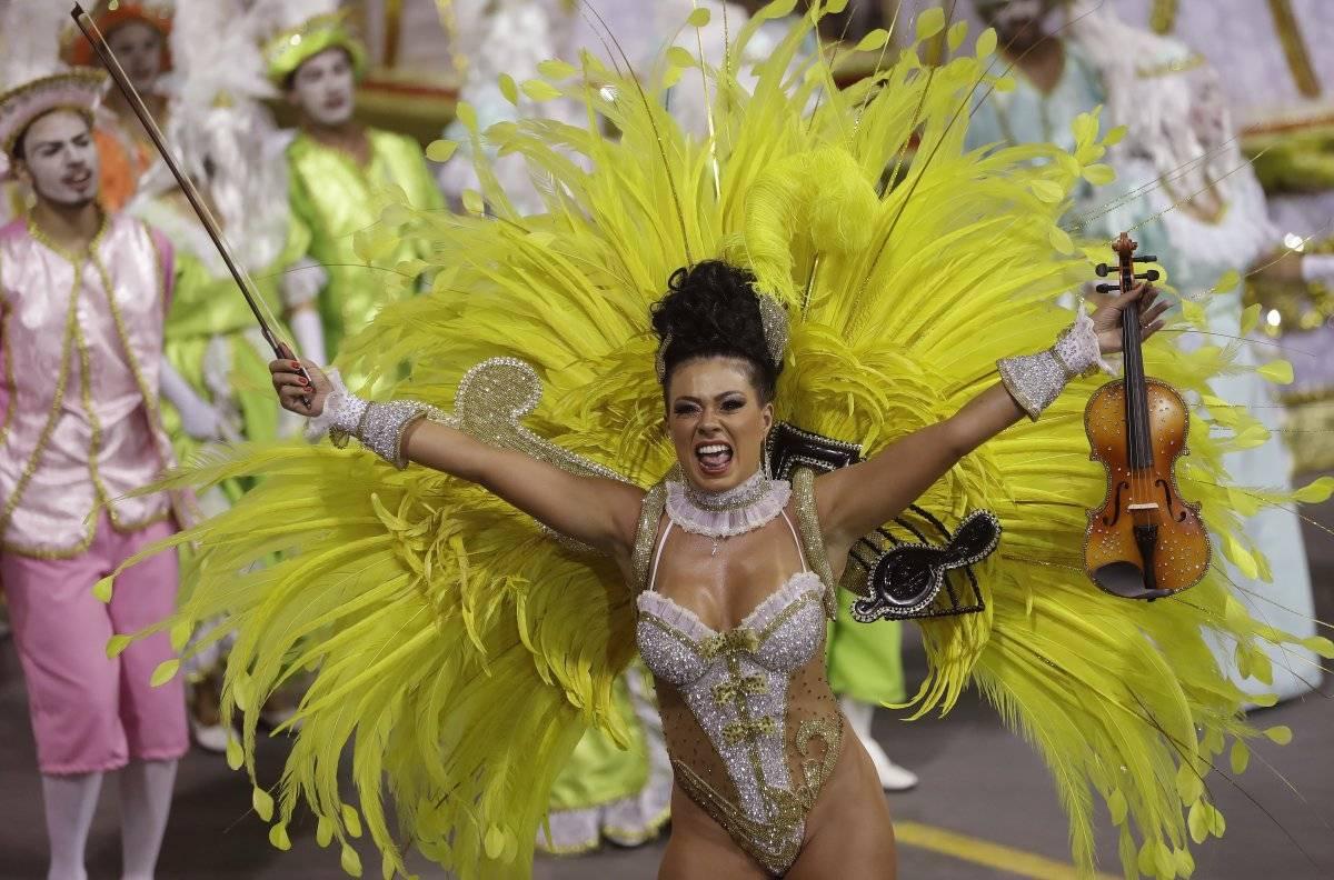 Carnaval de Sao Paulo, Brasil.