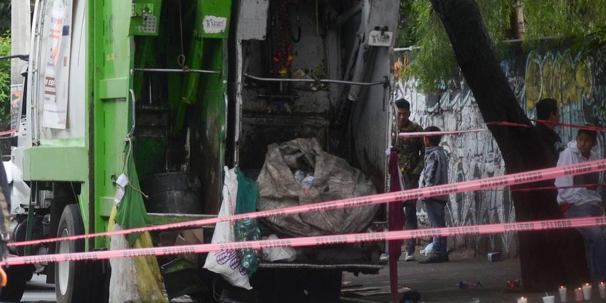 Trabajador muere prensado dentro de camión de basura en la GAM