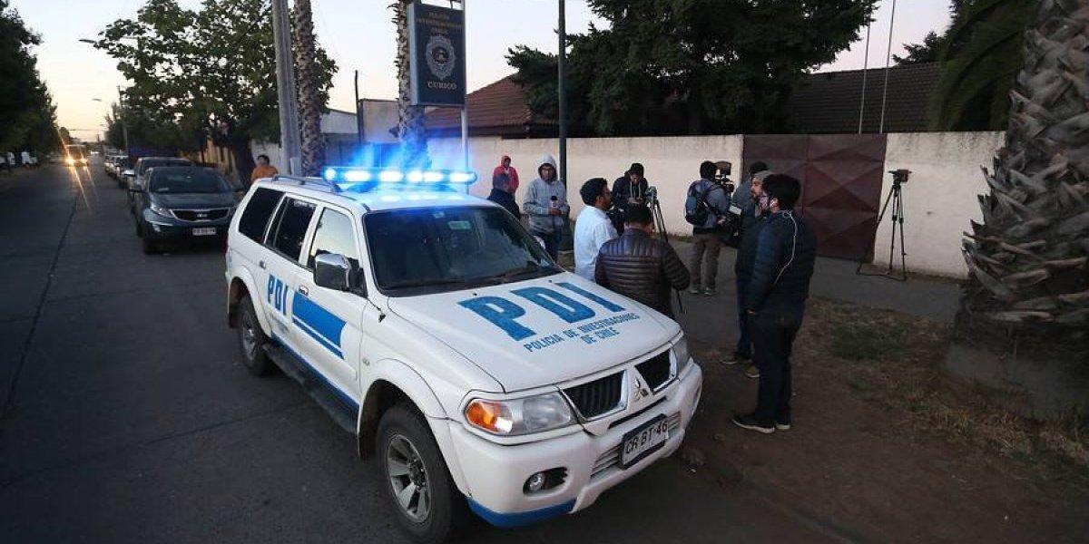 PDI indaga doble homicidio con arma blanca en una plaza de Maipú