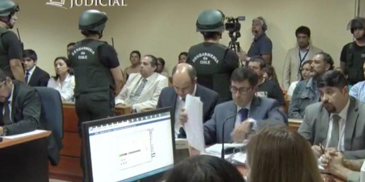 """Secuestrador de Emmelyn en la audiencia de Control de Licantén: """"Me dedico a hacer pololitos, señor Juez"""""""