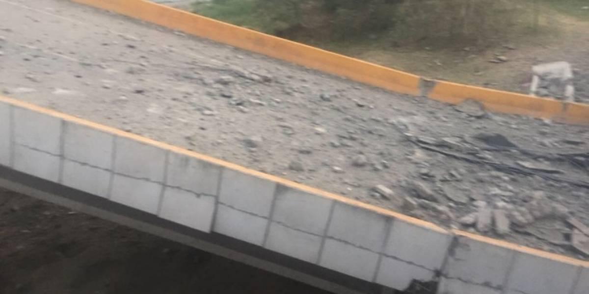Atentando en puente vehicular del Cesar