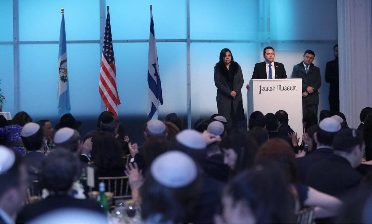 Comunidad judía y Jimmy Morales