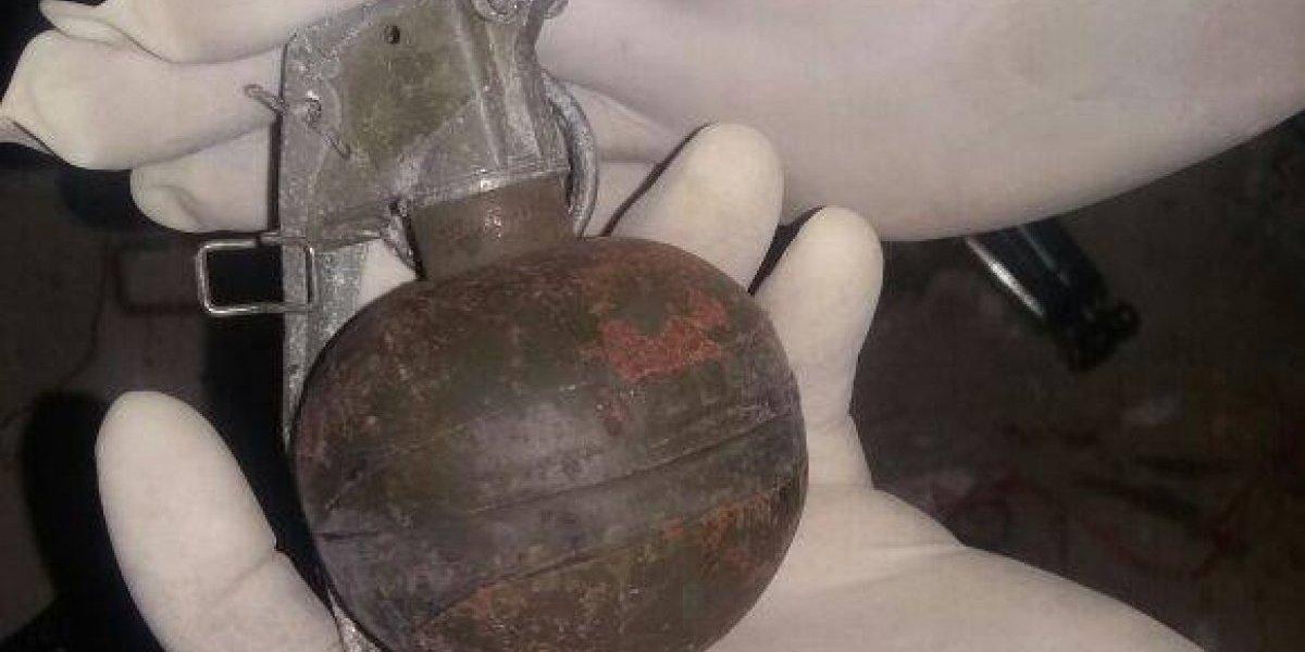 Localizan caleta con explosivo en la cárcel El Infiernito