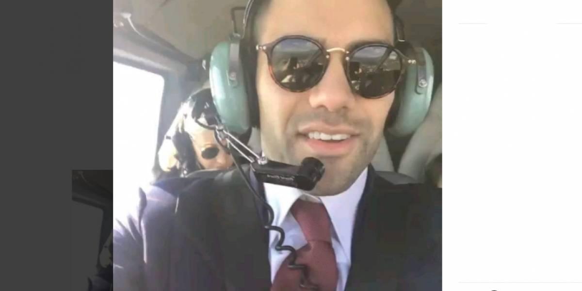 (Video) ¿Falcao, copiloto de helicóptero? Así fue el paseo que dio con su familia