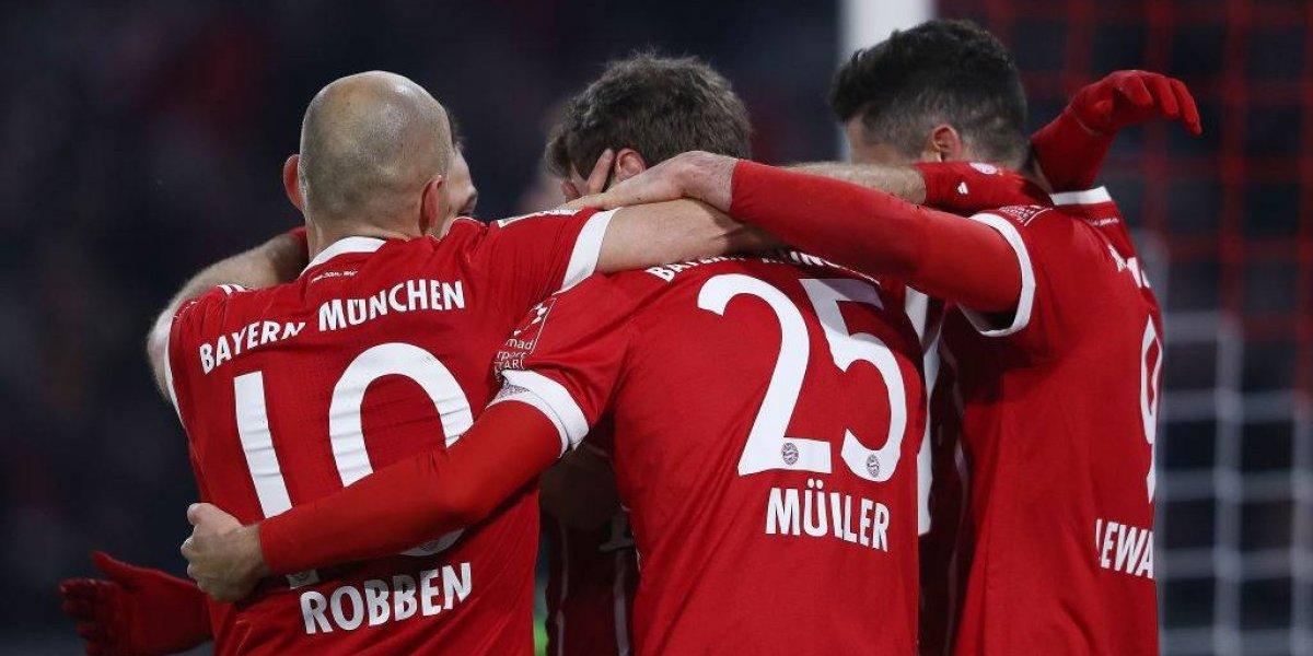 Arturo Vidal y el Bayern Munich ya preparan la celebración en Alemania