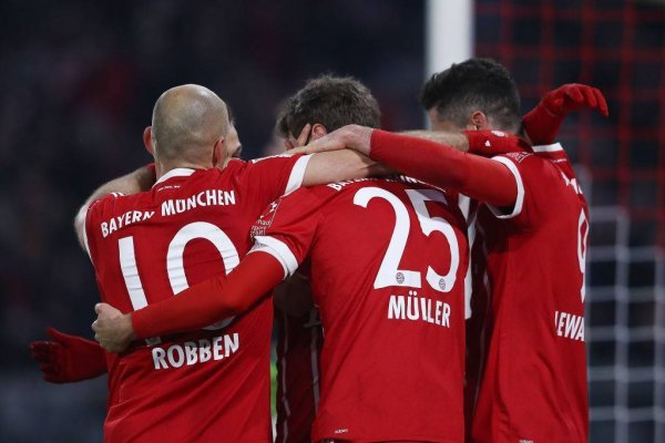 Bayern Munich quiere festejar un nuevo título / imagen: Getty Images