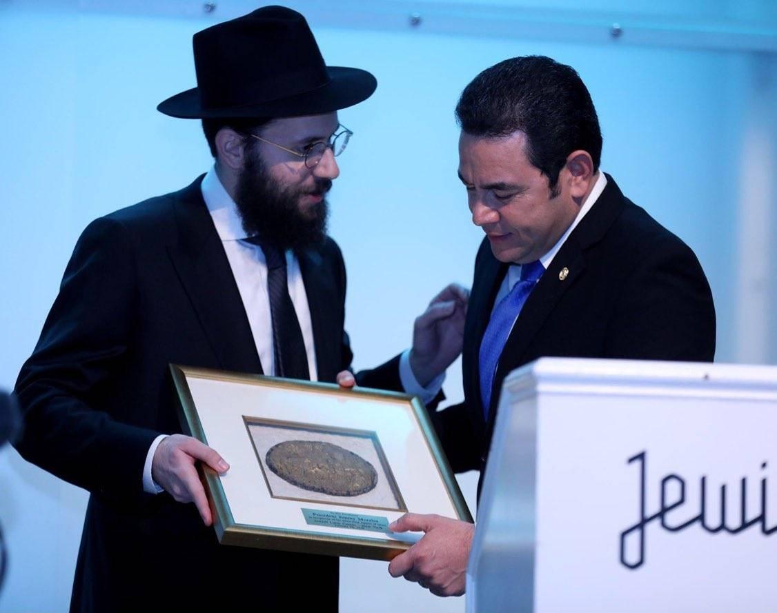 Judíos y Jimmy Morales