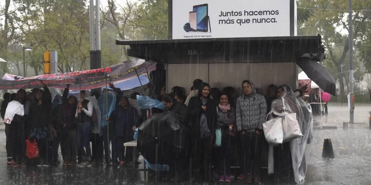 Sábado con lluvias intensas en 27 entidades, incluyendo CDMX y Edomex