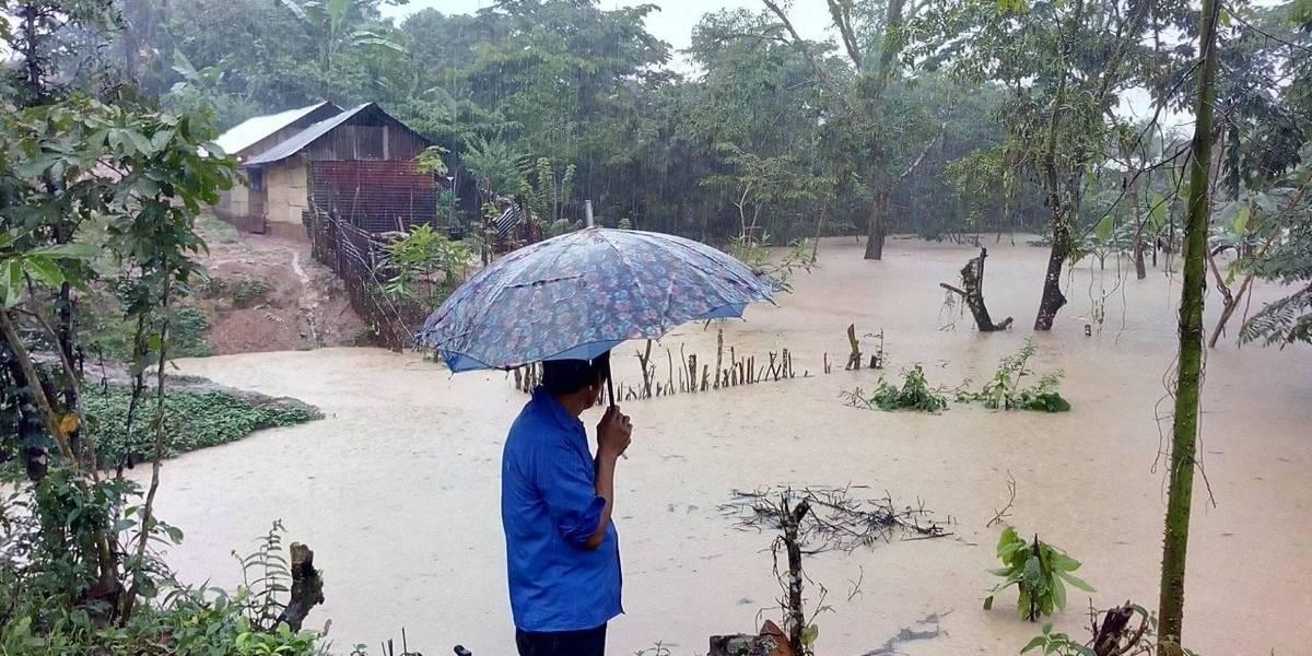 Las lluvias en el país dejan casi los 100 mil afectados
