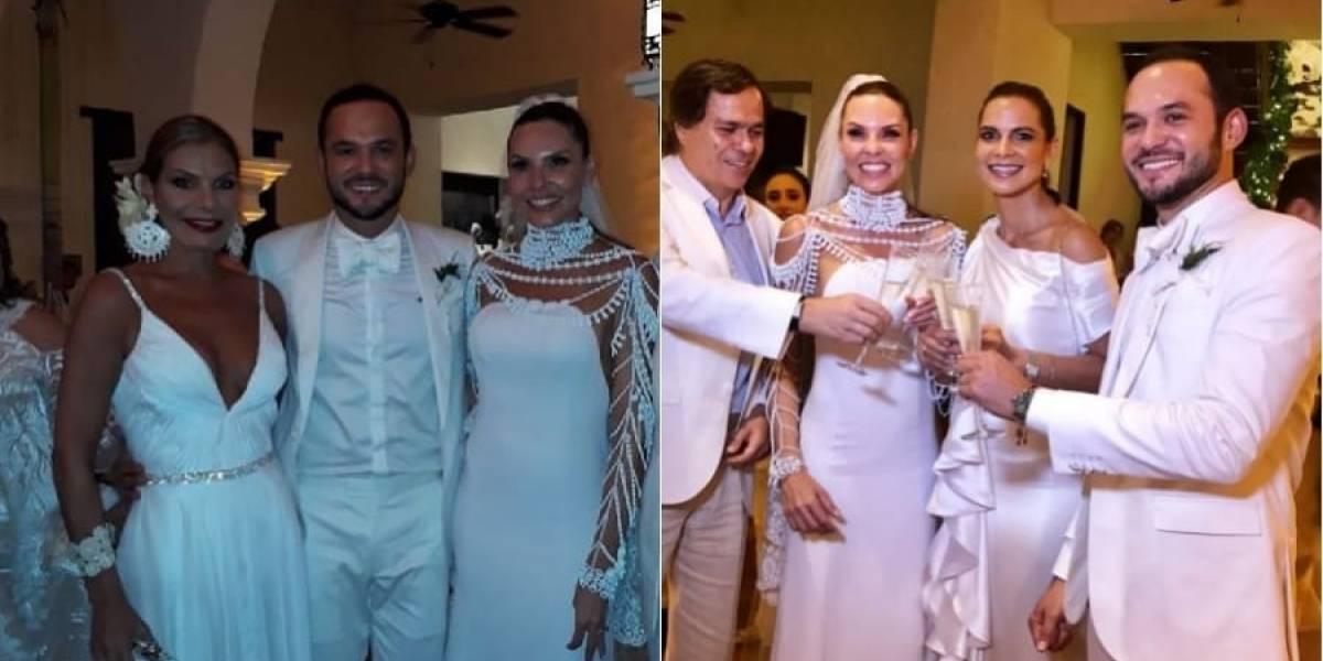 Video: Así fue la segunda boda de Paula Andrea Betancourt