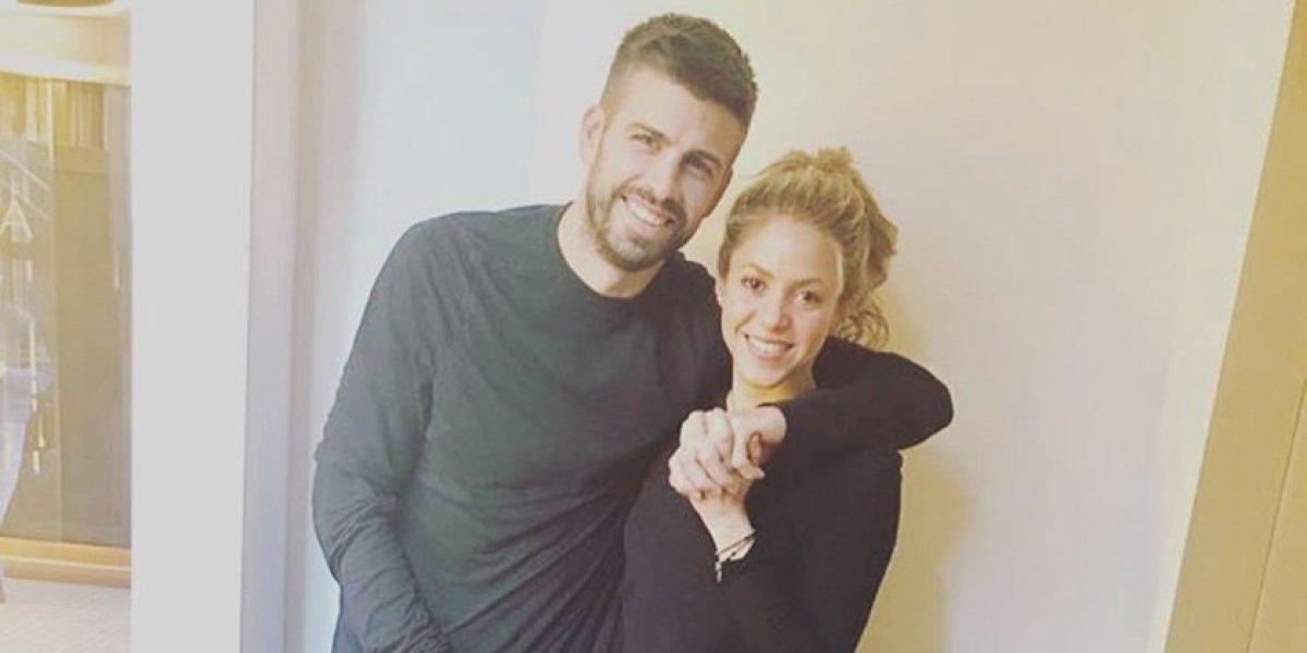 Piqué comparte cómo lo perfuma Shakira cada vez que llega a casa