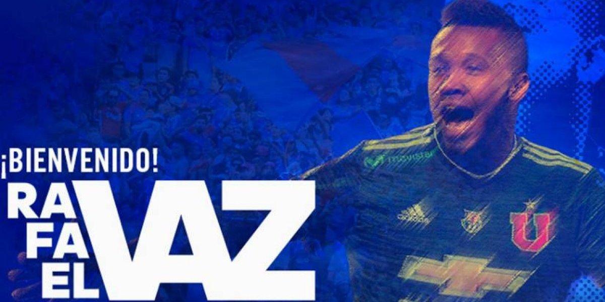 Fin de la espera: la U hizo oficial la llegada de Rafael Vaz