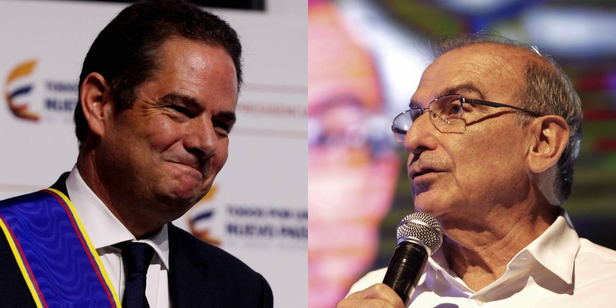 Fuerte cruce de mensajes entre Germán Vargas Lleras y Humberto de la Calle