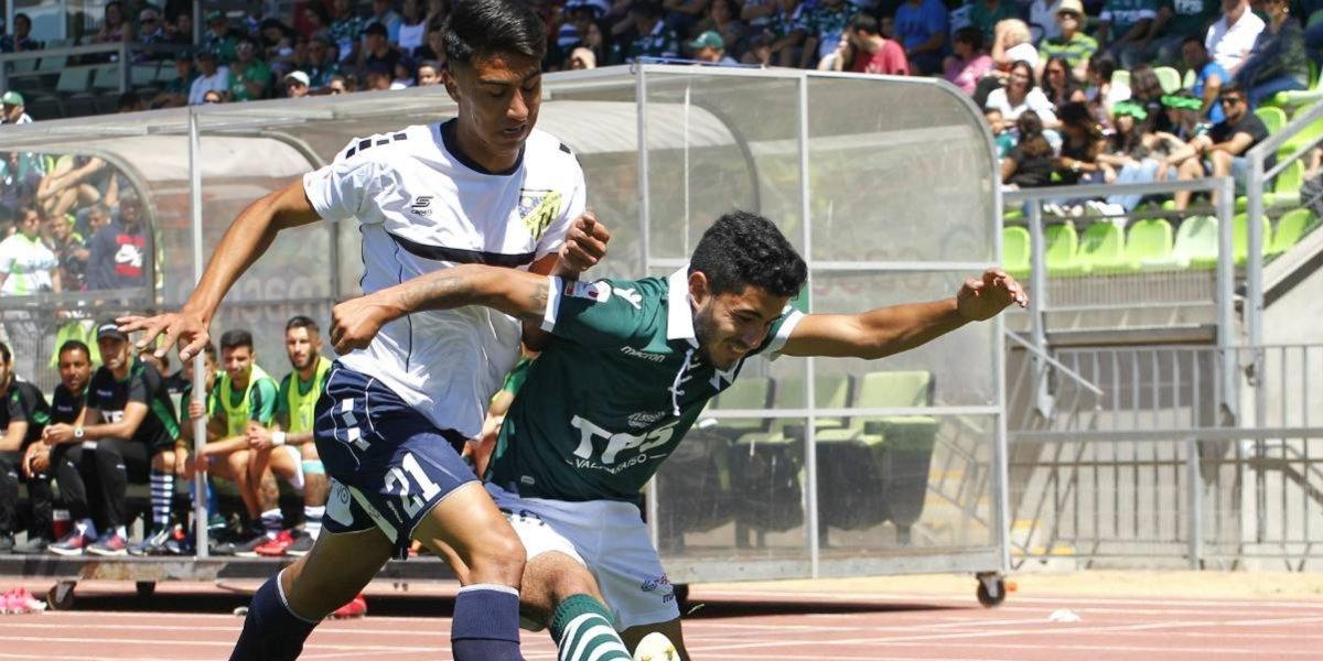 Santiago Wanderers cayó ante Santa Fe en Valparaíso