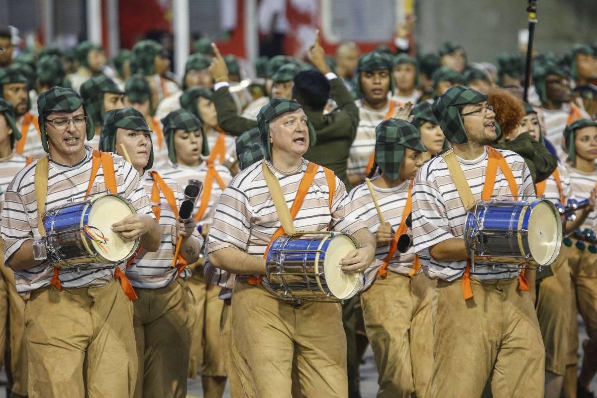 """Desfile da escola de samba """"Unidos de Vila Maria"""" Agif/Folhapress"""
