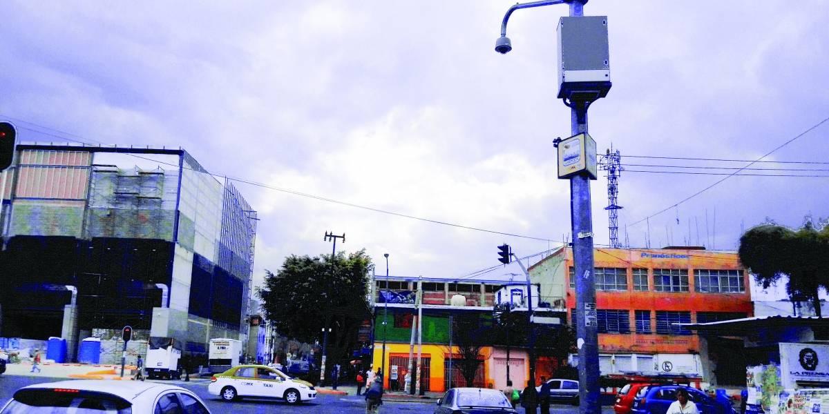 Obsoletas 4 de cada 10 cámaras de vigilancia de la CDMX