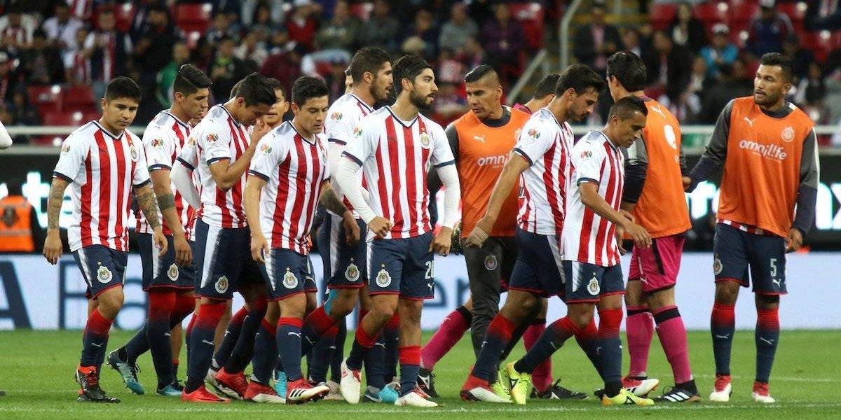 ¡Se agrava la crisis! Chivas suma cuarta derrota en el Clausura 2018