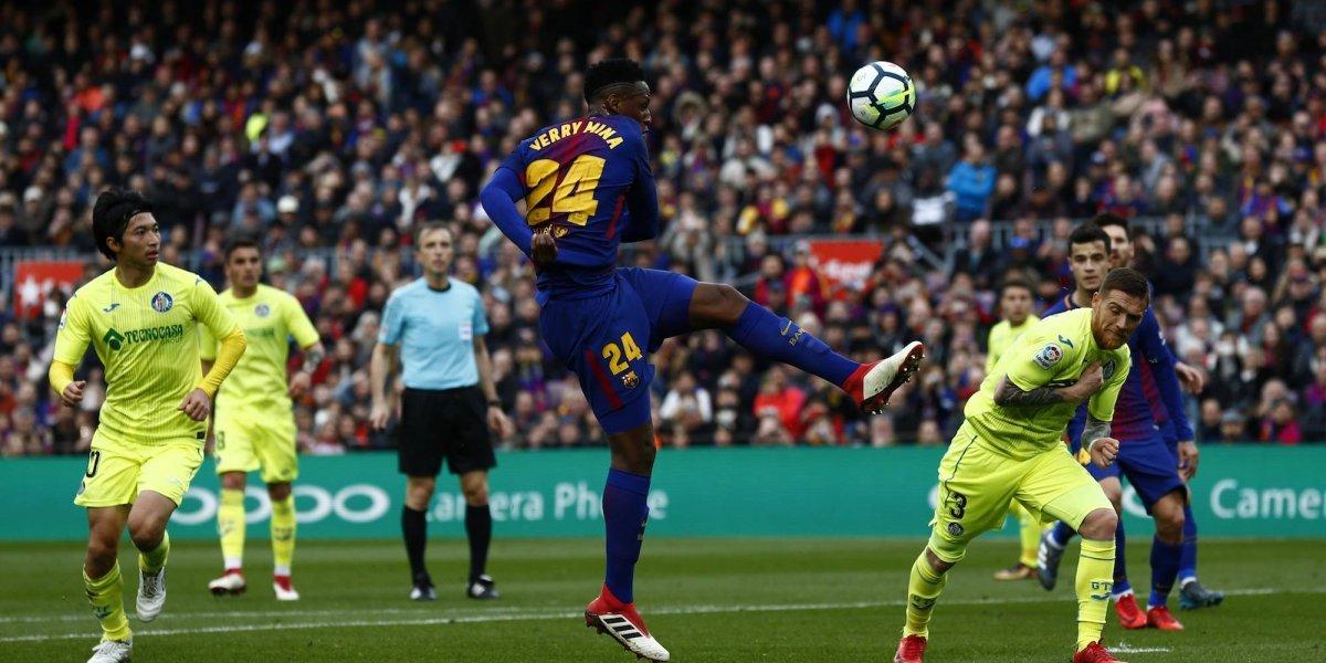 Gris empate de Barcelona sobre Getafe
