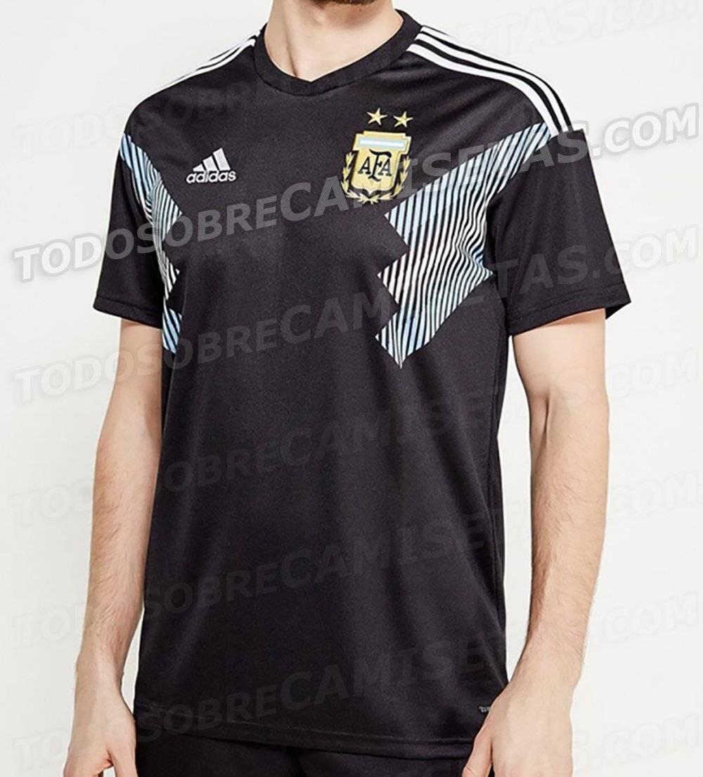 Playera visitante de Argentina