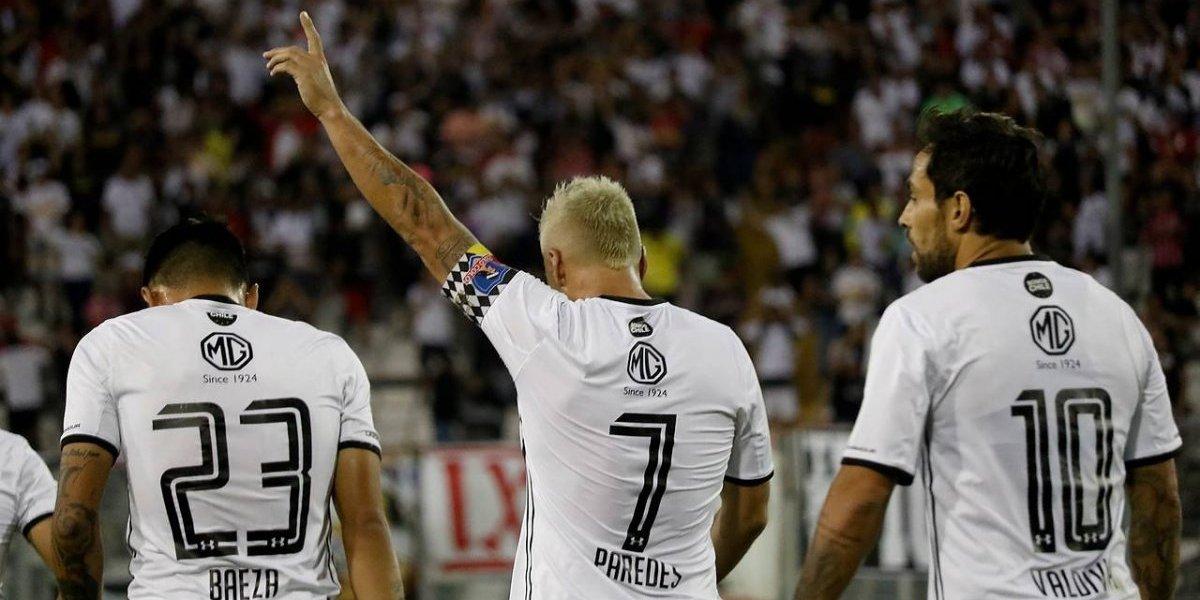 """El triplete no conformó a Esteban Paredes: """"Los goles hay que hacerlos y no podemos perdonar al rival"""""""