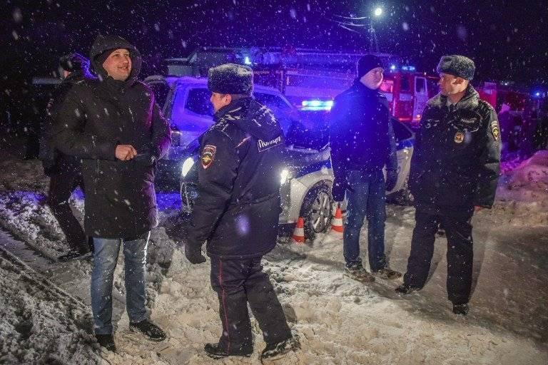 Accidente de avión en Rusia