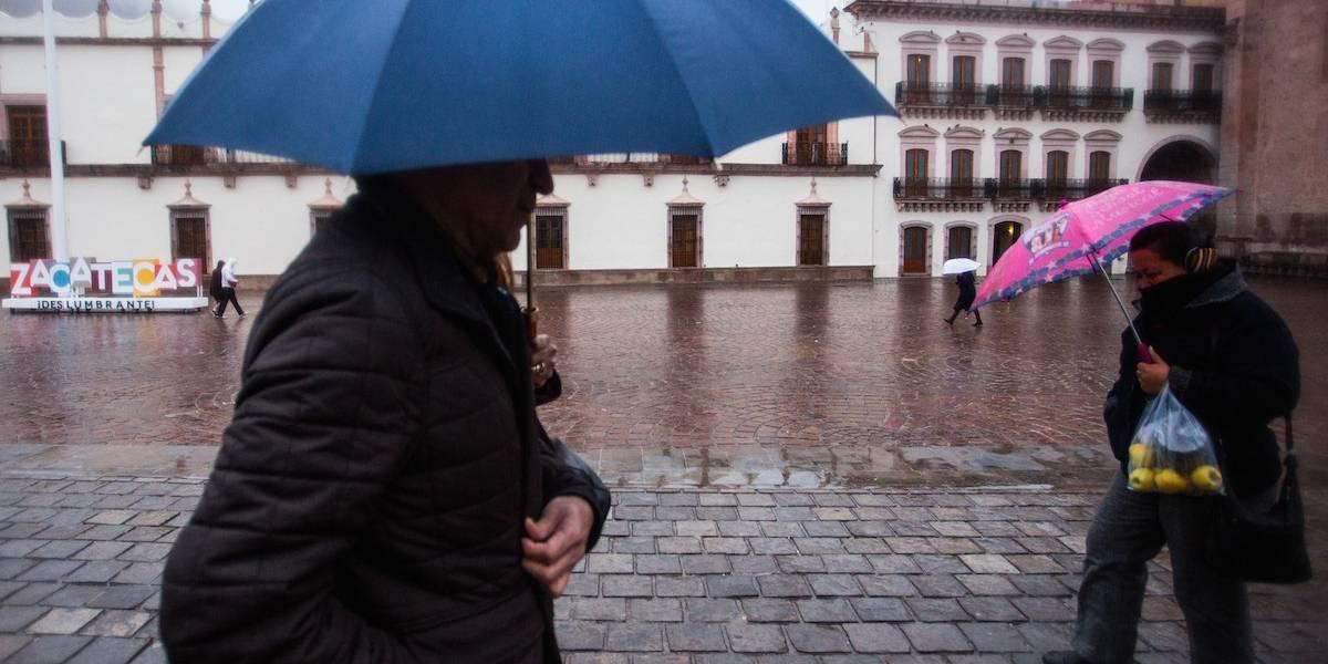 Lluvias y fuertes vientos en gran parte del país